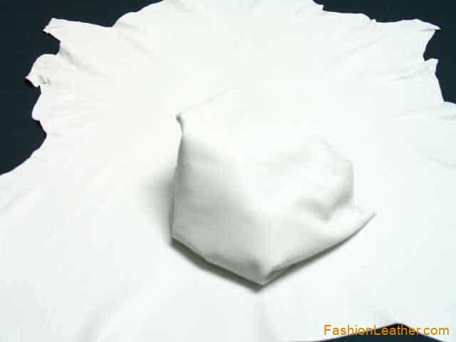 Standard Finish White | Wholesale Lambskin Leather | Fashion Leather